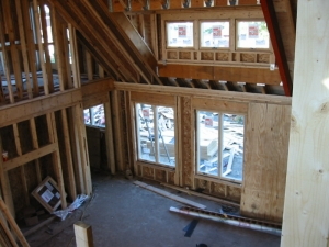 Windows are installed (interior)
