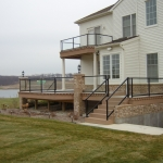 190 - railing on decks with columns