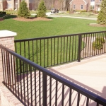 62 - railing - regular aluminum