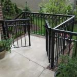 65 - railing - aluminum gates