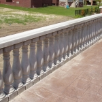 66 - railing - cement balustrades