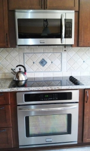 New stove, cook top and microwave