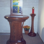Urn Table and Candle Base