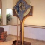 Tree of Life Processional Cross