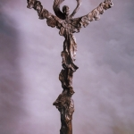 Bronze Processional Cross