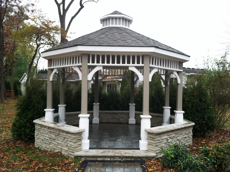 Completed Gazebo
