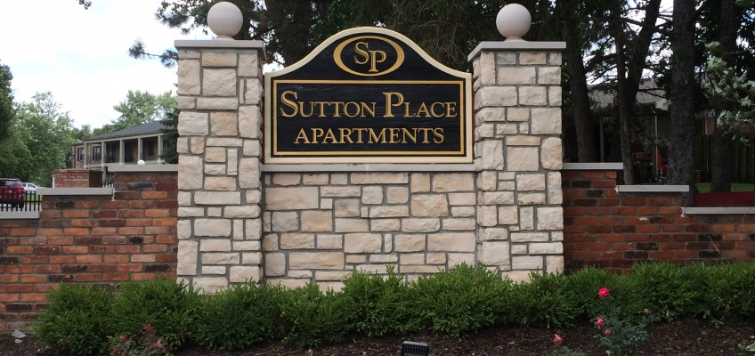 Sutton Place Signage